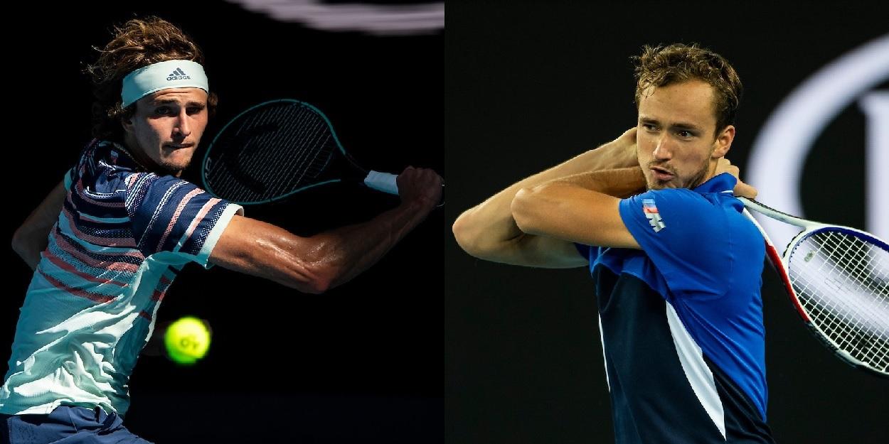 Zverev Medvedev Paris Final