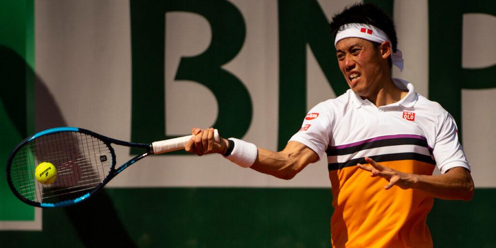 Nishikori Roland Garros 2019