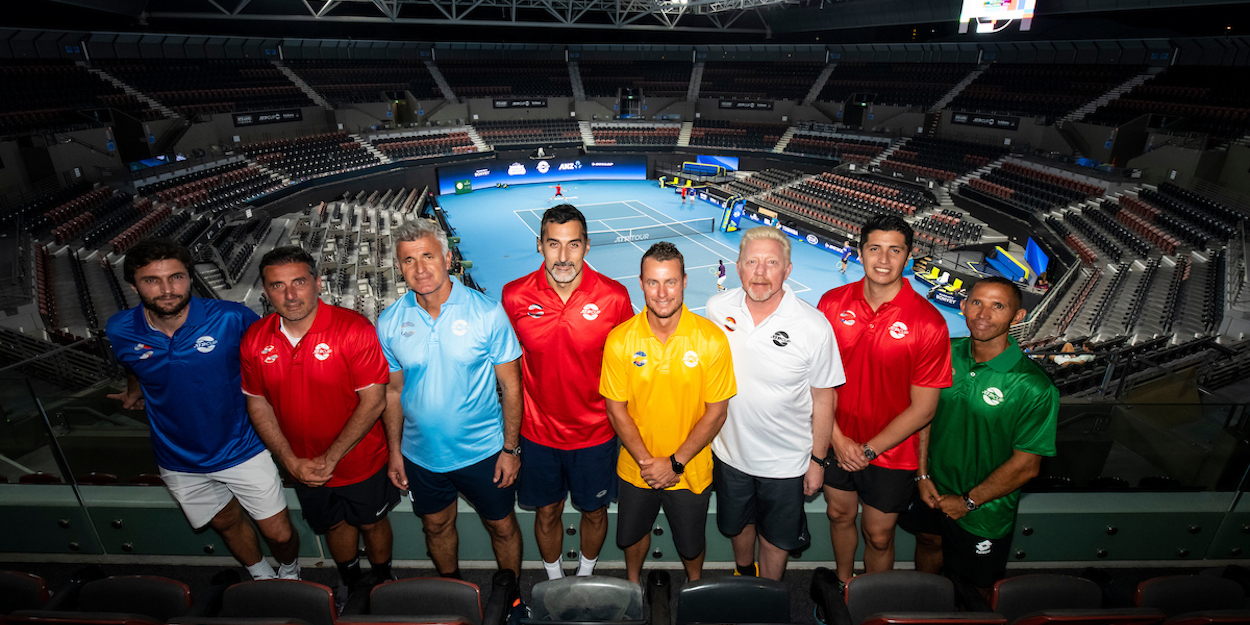ATP Cup 2020 all the captains